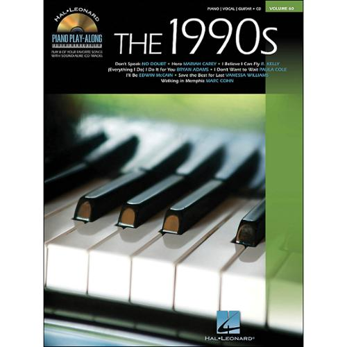 Hal Leonard The 1990s-Piano Play-Along Volume 60 (Book and CD)