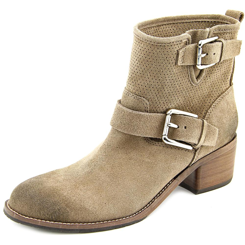 Donald By Donald J Pliner Willow-OL Round Toe Suede Ankle Boot by Donald By Donald J Pliner