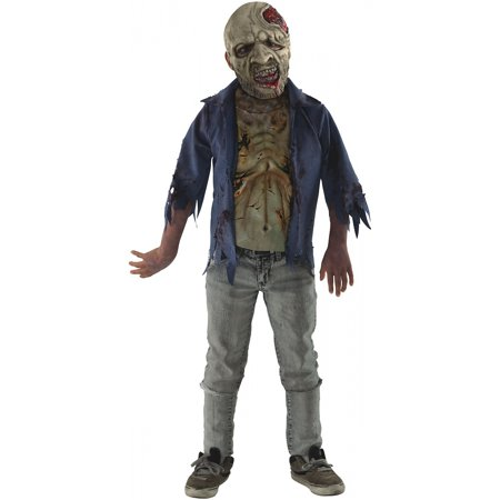 Zombie Teen Costume (Deluxe Decomposed Zombie Teen/Junior Costume -)