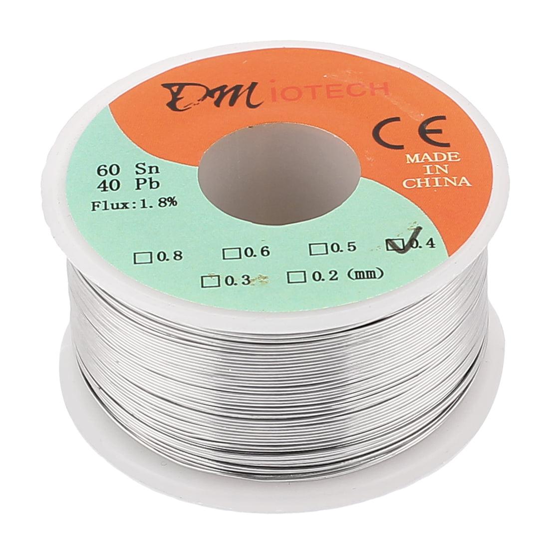 DMiotech 0.4mm 150G 60/40 Rosin Core Tin  Roll Soldering Solder Wire