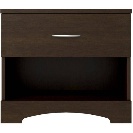 Ameriwood Home Crescent Point Nightstand, Multiple Colors (Ameriwood Nightstand)