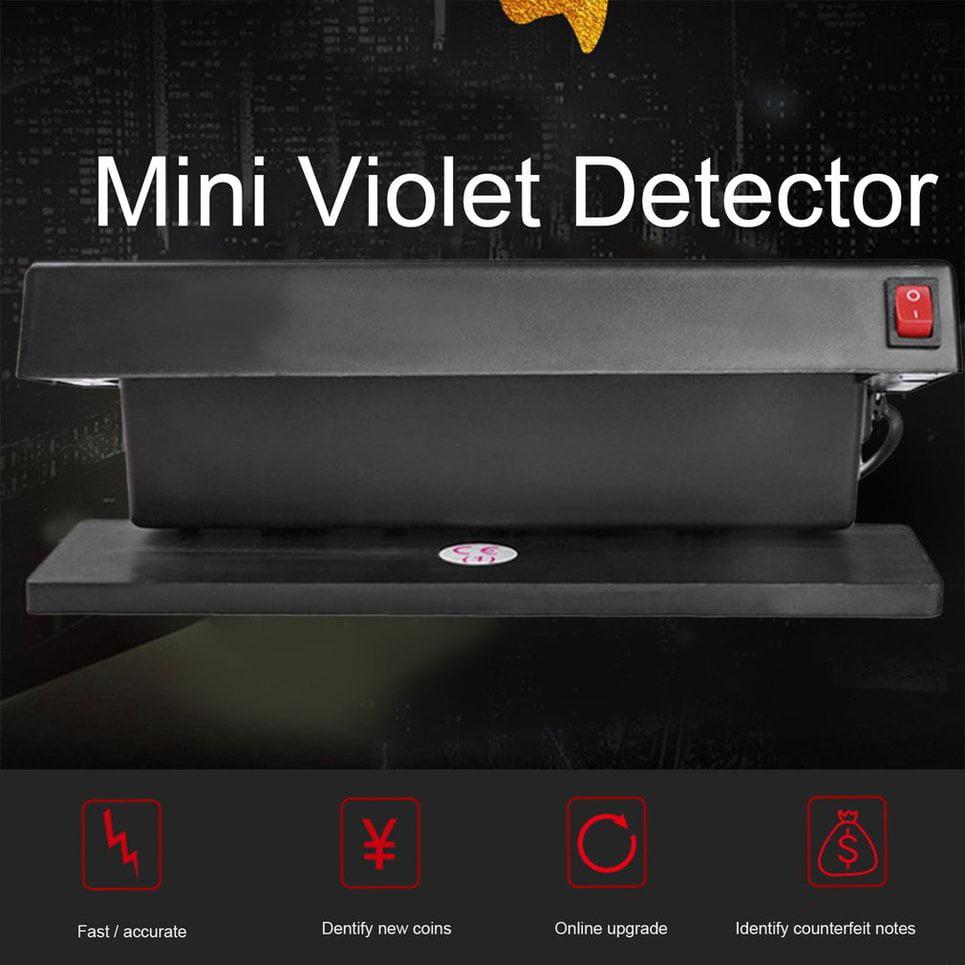 (EU)Electronic UV Money Detector Checker Fake Note Mini Counterfeit Money Tester