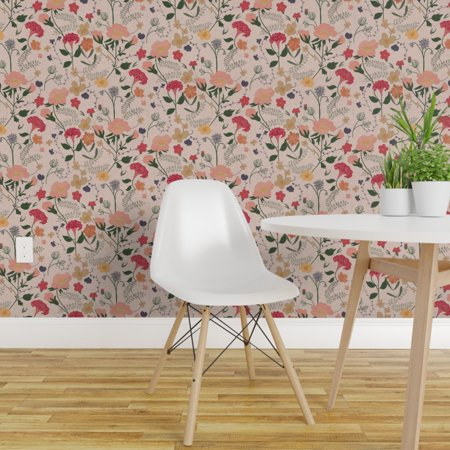 Peel and Stick Removable Wallpaper Woodland Camo Bears Camouflage Pine