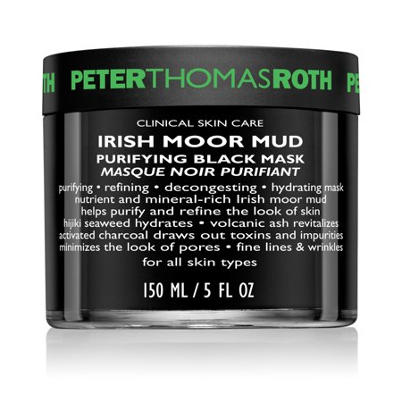 Peter Thomas Roth Irish Moor Mud Purifying Black Face Mask, 5 Oz