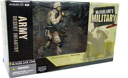McFarlane Military Series 1 Desert Infantry Action Figure [Random Ethnicity] by
