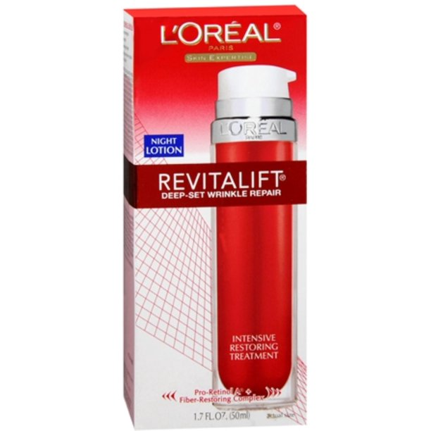 L Oreal Dermo Expertise Advanced Revitalift Deep Set Wrinkle Repair Night Creme 1 70 Oz Pack Of 2 Walmart Com Walmart Com