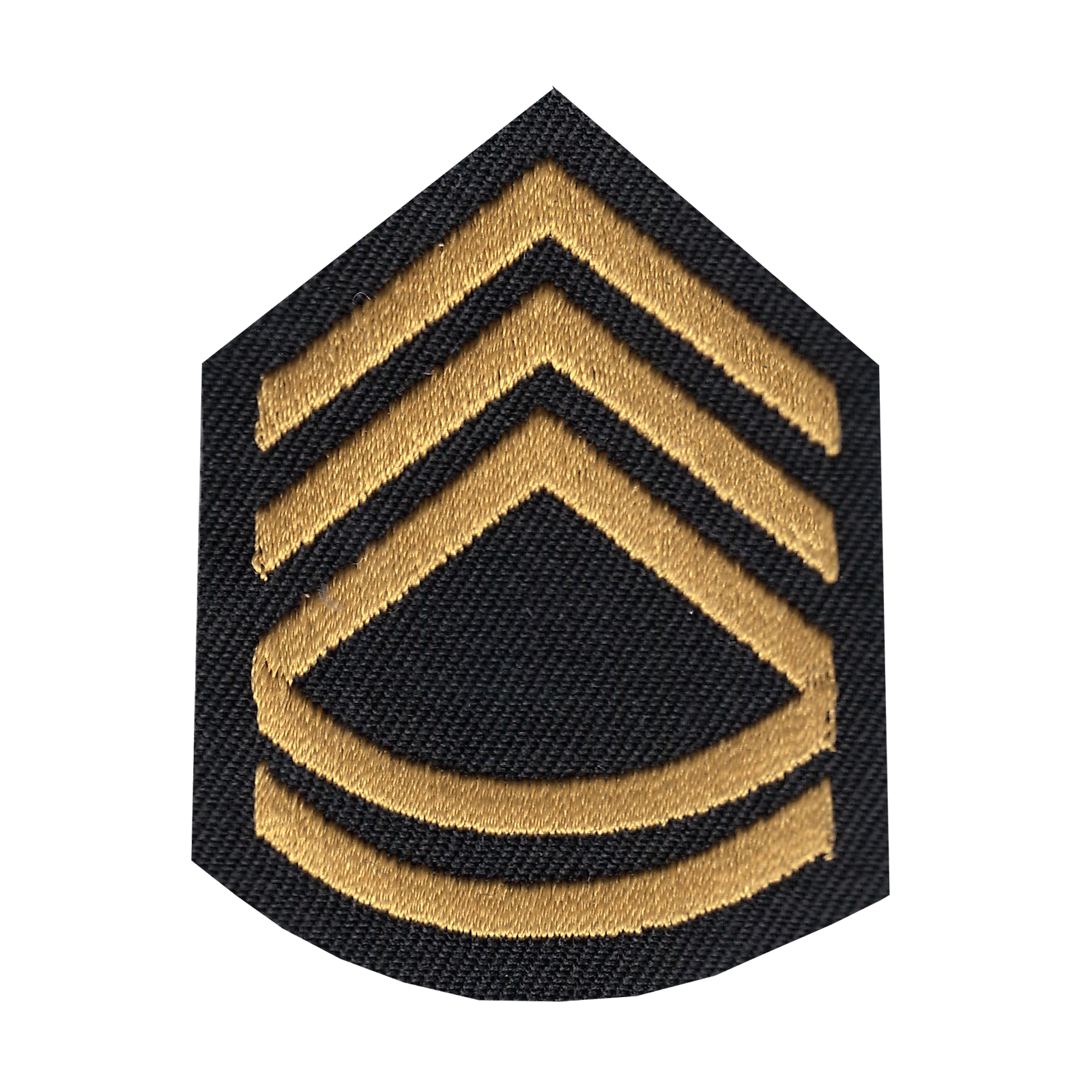 Sergeant First Class Iron On Applique Patch
