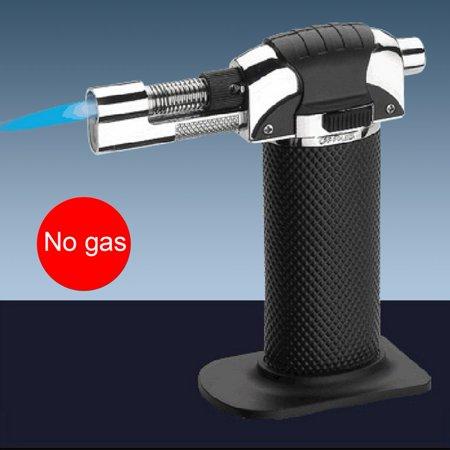 Butane Jet Flame Cigar - High Temperature Refillable Butane Torch Soldering Welding Windproof Lighter