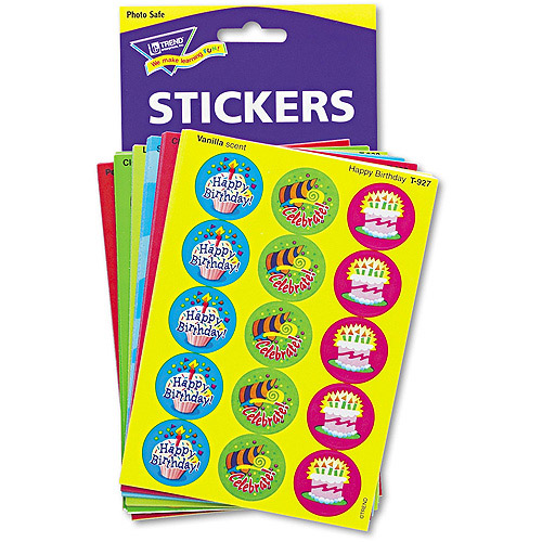 TREND Stinky Stickers Variety Pack, Holidays and Seasons, 432pk