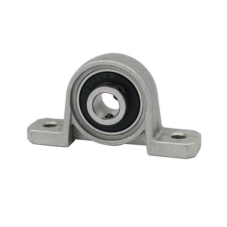8mm Dia Bore Self Align Vertical Mounted Flange Ball Bearing Pillow Block