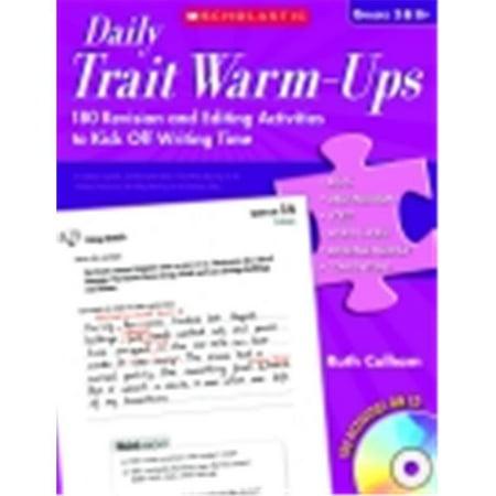 Daily Warm Ups (Scholastic Daily Trait Warm)