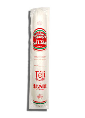 Hungarian Brand Salami Teli, approx. 2.1lb by