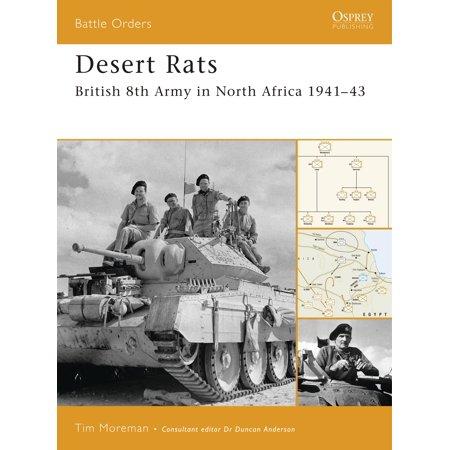Desert Rats : British 8th Army in North Africa (British Desert Rat)
