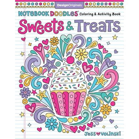 Notebook Doodles Sweets & Treats