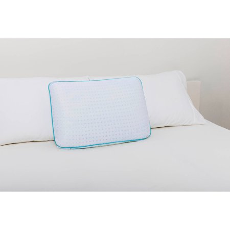 Dream Serenity Gel-Infused Queen Traditional Memory Foam Pillow - Walmart.com