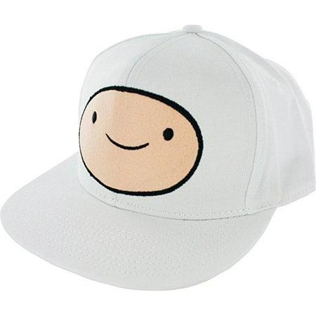 35419324f6c Adventrue Time - Adventure Time Finn Men s White Snapback Cap  Misc ...