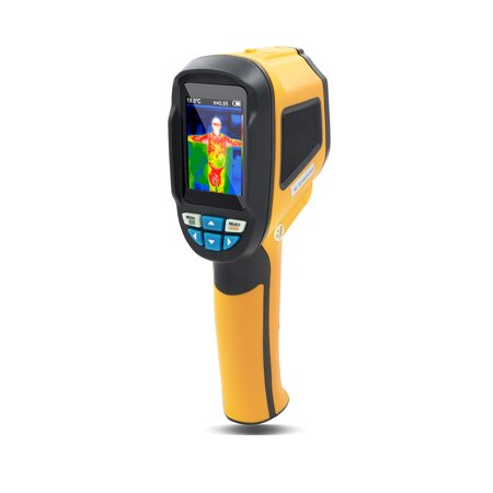 PerfectPrime IR0001, Infrared (IR) Thermal Imager & Visible Light Camera with IR Resolution 1024 Pixels & Temperature Range from -4 ~ 572°F, 6Hz Refresh Rate