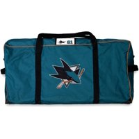 Justin Braun San Jose Sharks Player-Issued #61 Teal Equipment Bag from the 2018-19 NHL Season - Fanatics Authentic Certified
