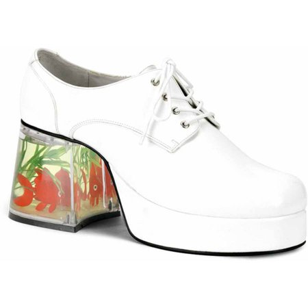 Mack White Shoes Men's Adult Halloween Costume Accessory