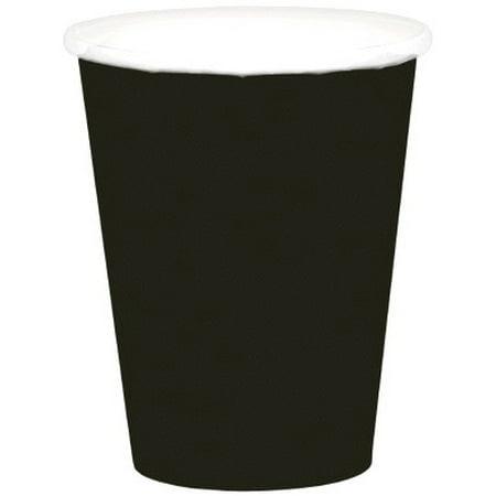 136 Glasses - Beverage Cups 9oz 20/Pkg-Black