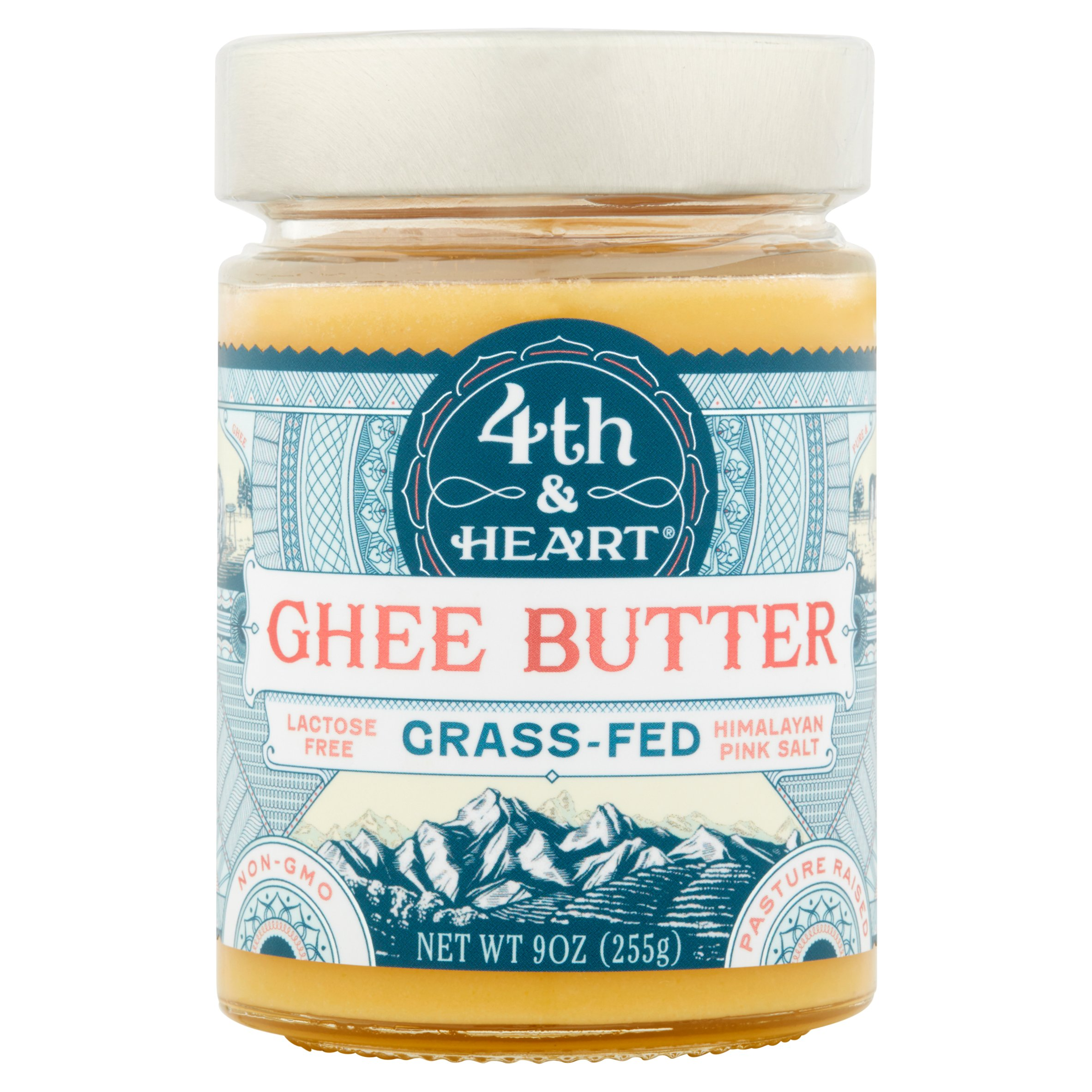 Image of 4Th Heart, Ghee Himalayan Salt, 9 Oz (Pack Of 6)