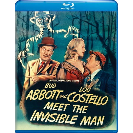 Image of Abbott and Costello Meet the Invisible Man (Blu-ray)