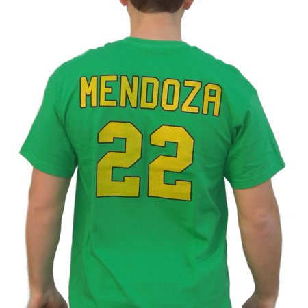 Luis Mendoza #22 Mighty Ducks Movie Jersey T-Shirt Hockey Player D2 Costume