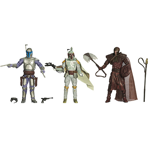 Star Wars-lucas Sw 3.75 Evltns The Fett Legacy Pk