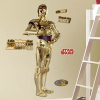 Wallhogs Star Wars C-3PO Cutout Wall Decal