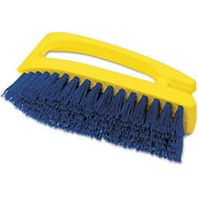 Rubbermaid Commercial Iron-Shaped Handle Scrub Brush, 6 in