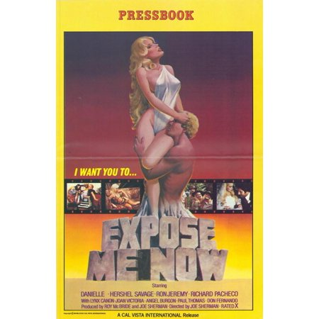 Expose Me Now POSTER Movie (27x40) (Halloween Exposed)