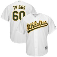 Andrew Triggs Oakland Athletics Majestic Home Cool Base Jersey - White