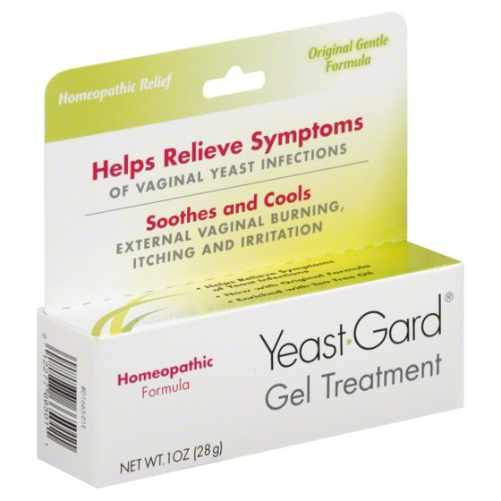 Yeast Gard Homeopathic Gel Treatment - 1 Oz