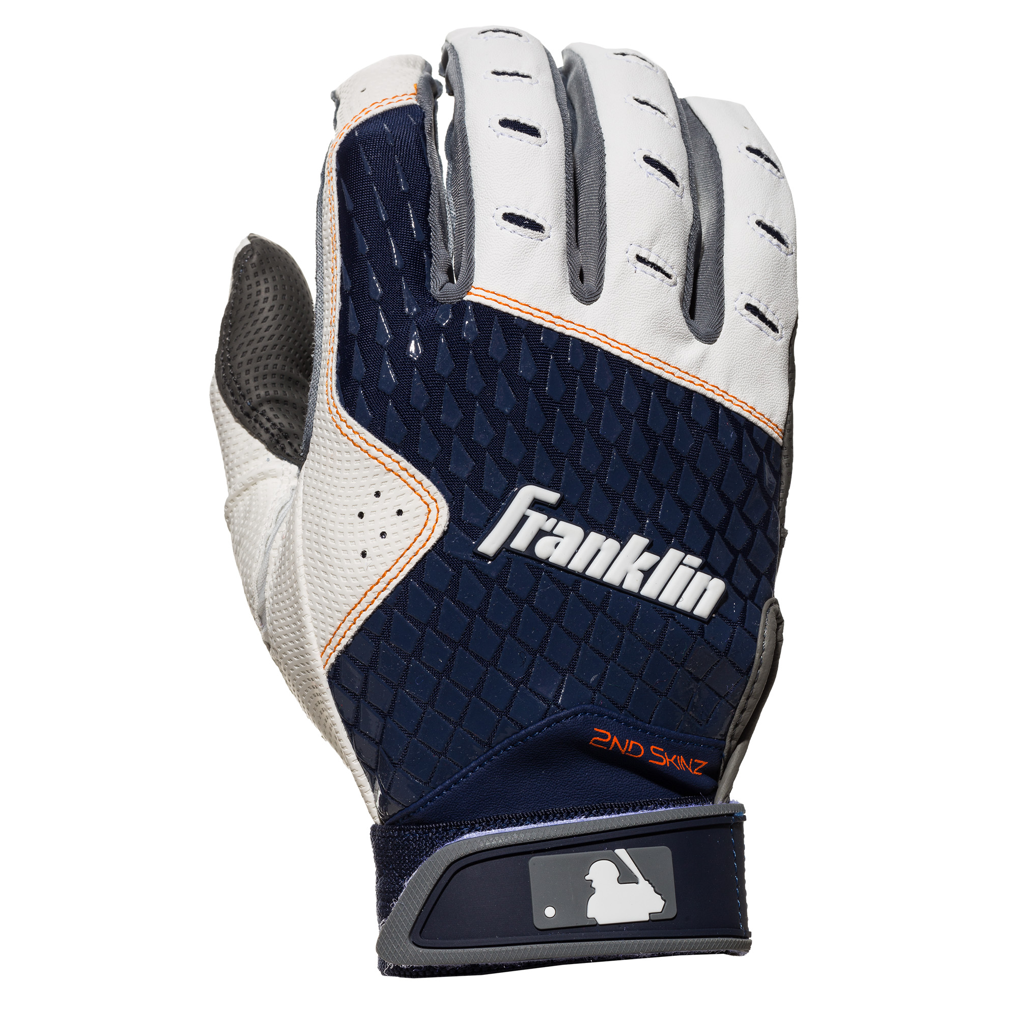 Franklin Sports Adult 2nd-Skinz Batting Gloves, Assorted