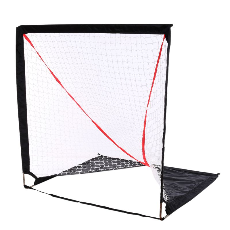 Portable Lacrosse Goal Pop Up Lax Net for Backyard Shooting Collapsible, Foldable, Travel Goals (4*4')