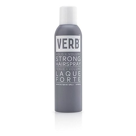 Verb Strong Hairspray - Hold & (Facial Hair Styles For Round Faces)