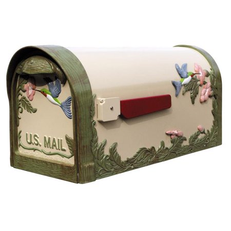 Special Lite Products Hummingbird Curbside Natural Hand Painted - Hand Painted Bird Box
