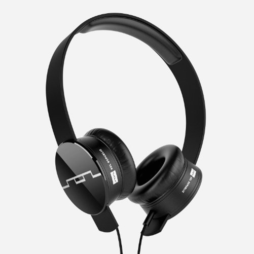Sol Republic 1202-61 Tracks On-Ear Headset, Black