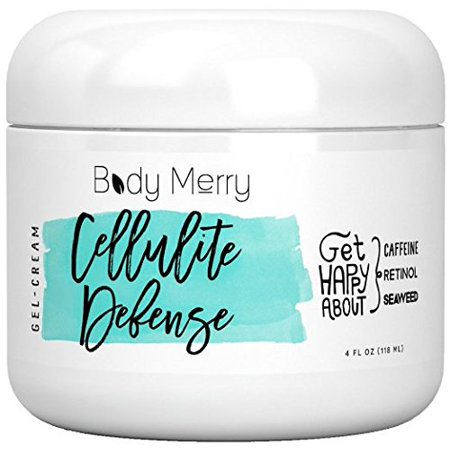 Cellulite Defense Cream with Caffeine Retinol Seaweed 4