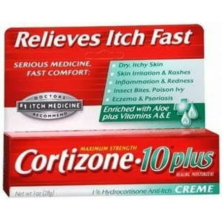 Cortizone-10 Plus Cream, 1 oz