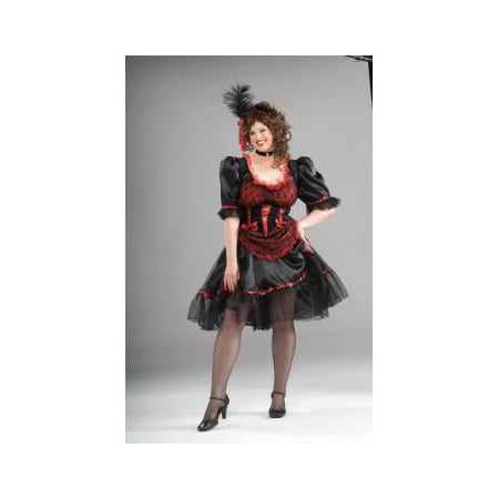 COSTUME-SALOON GIRL-PLUS SIZE - Adult Saloon Girl Costume