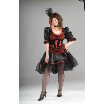 COSTUME-SALOON GIRL-PLUS SIZE](Saloon Costumes For Women)
