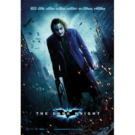 Batman: The Dark Knight - Movie Poster / Print (Regular Style - The Joker) (Size: 27