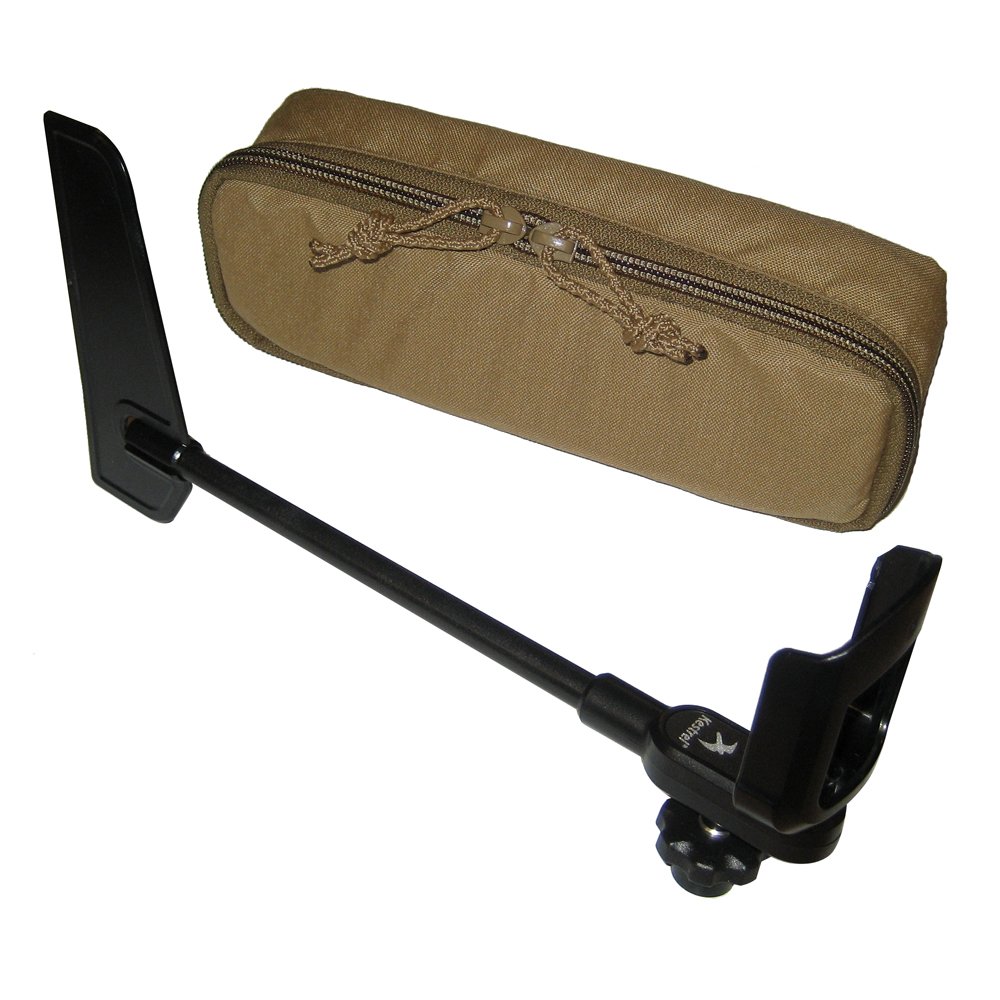 KESTREL ROTATING VANE MOUNT  & TACTICAL TAN CARRY CASE
