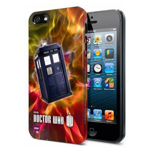 Doctor Who iPhone 5/5s Hard Snap Case TARDIS