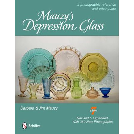 Mauzy's Depression Glass : A Photographic Reference with Prices