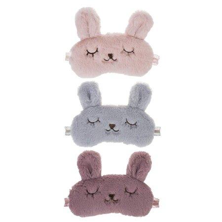 Ganz Springtime Pals Bedtime Bunnies Eye Masks - Set of 3