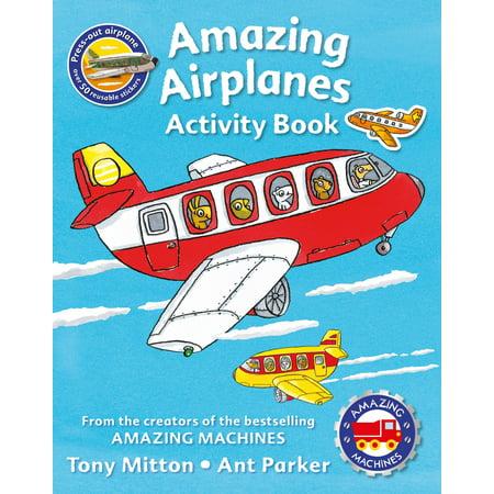 Amazing Machines Amazing Airplanes Activity book (Amazing Selling Machine)