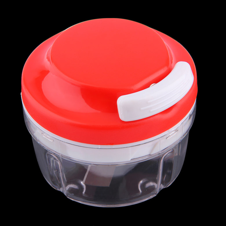 Convenient Plastic Kitchen Food Chopper Dicer Slicer Meat Cutter Mixer Salad Crusher... by