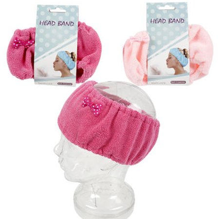 - 2 Pc Terrycloth Shower Head Band 8